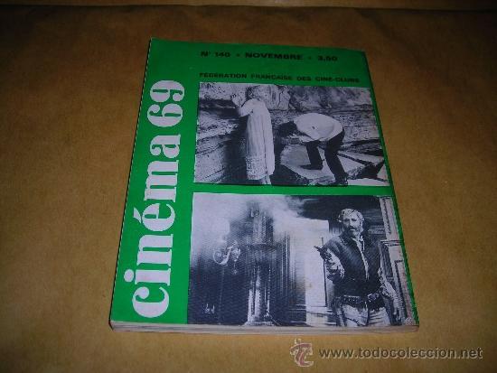 Cine: (M) REVISTA CINEMA 69 -Nº 140 NOVEMBRE 1969 ,DIRCT. JEAN BILLEN PARIS 144 PAG 18,5X14 CM. - Foto 2 - 38372152