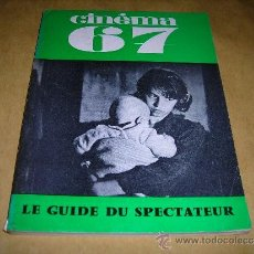 Cine: (M) REVISTA CINEMA 67 -Nº 115 AVRIL 1967 ,DIRCT. JEAN BILLEN PARIS 128 PAG 18,5X14 CM. . Lote 38372251