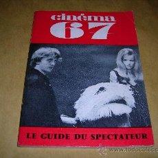 Cine: (M) REVISTA CINEMA 67 -Nº 116 MAI 1967 ,DIRCT. JEAN BILLEN PARIS 128 PAG 18,5X14 CM. . Lote 38372287