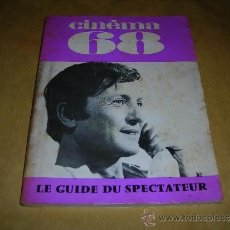 Cine: (M) REVISTA CINEMA 67 -Nº 127 JUIN 1967 ,DIRCT. JEAN BILLEN PARIS 128 PAG 18,5X14 CM. . Lote 38372332