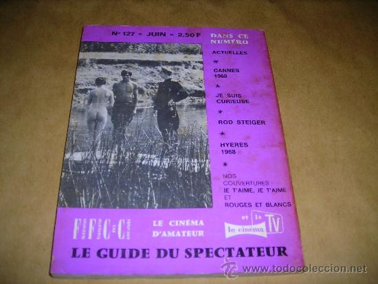 Cine: (M) REVISTA CINEMA 67 -Nº 127 JUIN 1967 ,DIRCT. JEAN BILLEN PARIS 128 PAG 18,5X14 CM. - Foto 2 - 38372332