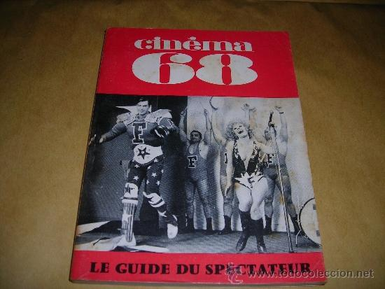 (M) REVISTA CINEMA 68 -Nº 131 DECEMBRE 1968 ,DIRCT. JEAN BILLEN PARIS 144PAG 18,5X14 CM. (Cine - Revistas - Cinema)
