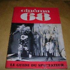 Cine: (M) REVISTA CINEMA 68 -Nº 131 DECEMBRE 1968 ,DIRCT. JEAN BILLEN PARIS 144PAG 18,5X14 CM. . Lote 38372650