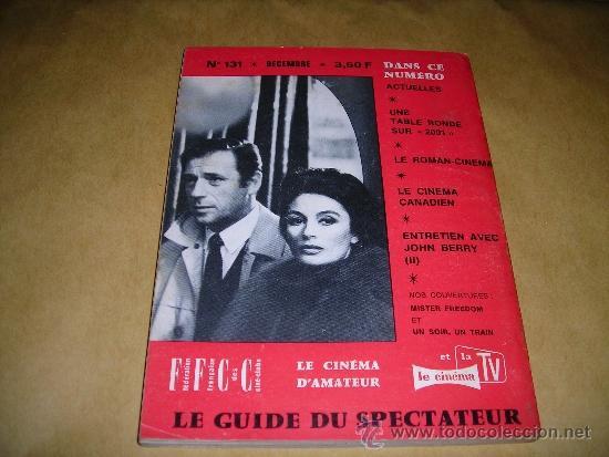 Cine: (M) REVISTA CINEMA 68 -Nº 131 DECEMBRE 1968 ,DIRCT. JEAN BILLEN PARIS 144PAG 18,5X14 CM. - Foto 2 - 38372650