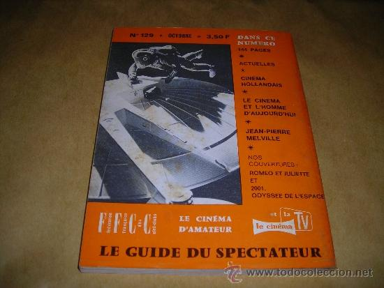 Cine: (M) REVISTA CINEMA 68 Nº 129 OCTOBRE 1968 ,DIRCT. JEAN BILLEN PARIS 144 PAG. 18,5X14 CM. - Foto 2 - 38372797