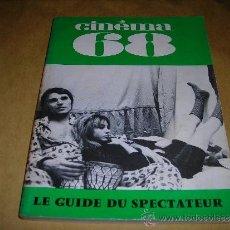 Cine: (M) REVISTA CINEMA 68 Nº 130 NOVEMBRE 1968 ,DIRCT. JEAN BILLEN PARIS 144 PAG. 18,5X14 CM. . Lote 38372850