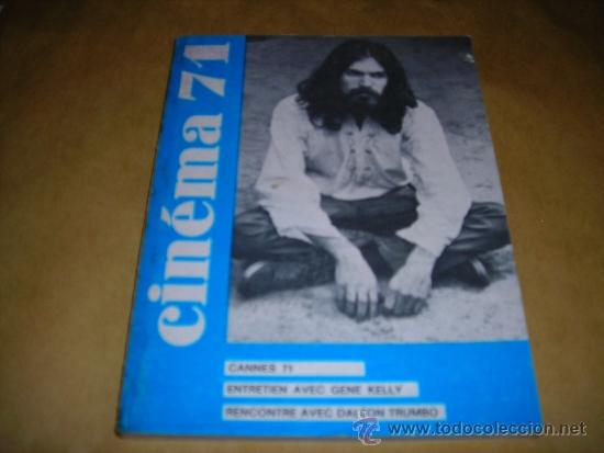 (M) REVISTA CINEMA 71 Nº 158 JUILLET-AOUT 1971 ,DIRCT. JEAN BILLEN PARIS 160 PAG. 18,5X14 CM. (Cine - Revistas - Cinema)
