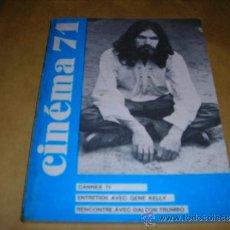 Cine: (M) REVISTA CINEMA 71 Nº 158 JUILLET-AOUT 1971 ,DIRCT. JEAN BILLEN PARIS 160 PAG. 18,5X14 CM. . Lote 38372965
