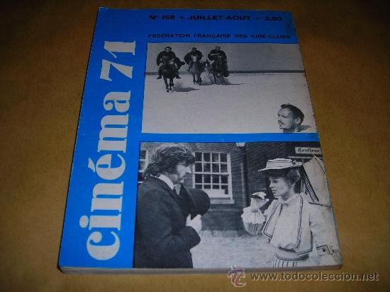 Cine: (M) REVISTA CINEMA 71 Nº 158 JUILLET-AOUT 1971 ,DIRCT. JEAN BILLEN PARIS 160 PAG. 18,5X14 CM. - Foto 2 - 38372965