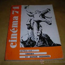 Cine: (M) REVISTA CINEMA 71 Nº 159 SEPT. OCT. 1971 ,DIRCT. JEAN BILLEN PARIS 160 PAG. 18,5X14 CM. . Lote 38373027