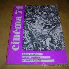Cine: (M) REVISTA CINEMA 71 Nº 152 JANVIER 1971 ,DIRCT. JEAN BILLEN PARIS 160 PAG. 18,5X14 CM. . Lote 38373094