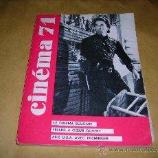 Cine: (M) REVISTA CINEMA 71 Nº 156 MAI 1971 ,DIRCT. JEAN BILLEN PARIS 160 PAG. 18,5X14 CM. . Lote 38373125
