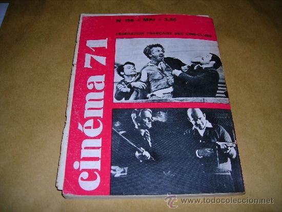Cine: (M) REVISTA CINEMA 71 Nº 156 MAI 1971 ,DIRCT. JEAN BILLEN PARIS 160 PAG. 18,5X14 CM. - Foto 2 - 38373125