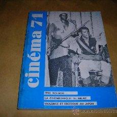 Cine: (M) REVISTA CINEMA 71 Nº 153 FEVRIER 1971 ,DIRCT. JEAN BILLEN PARIS 160 PAG. 18,5X14 CM. . Lote 38373155