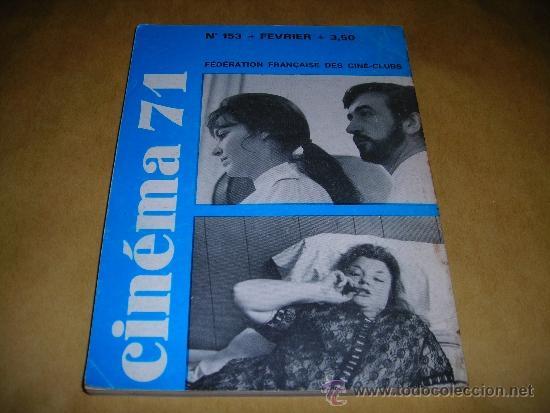 Cine: (M) REVISTA CINEMA 71 Nº 153 FEVRIER 1971 ,DIRCT. JEAN BILLEN PARIS 160 PAG. 18,5X14 CM. - Foto 2 - 38373155