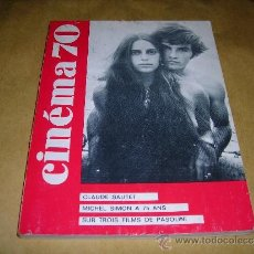 Cine: (M) REVISTA CINEMA 70 Nº 146 MAI 1970 ,DIRCT. JEAN BILLEN PARIS 144 PAG. 18,5X14 CM. . Lote 38373268