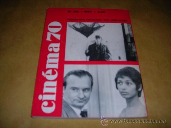 Cine: (M) REVISTA CINEMA 70 Nº 146 MAI 1970 ,DIRCT. JEAN BILLEN PARIS 144 PAG. 18,5X14 CM. - Foto 2 - 38373268