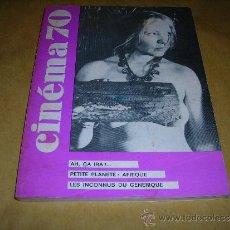 Cine: (M) REVISTA CINEMA 70 Nº 142 JANVIER 1970 ,DIRCT. JEAN BILLEN PARIS 144 PAG. 18,5X14 CM. . Lote 38373312
