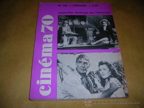 Cine: (M) REVISTA CINEMA 70 Nº 142 JANVIER 1970 ,DIRCT. JEAN BILLEN PARIS 144 PAG. 18,5X14 CM. - Foto 2 - 38373312