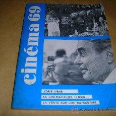 Cine: (M) REVISTA CINEMA 69 Nº 133 FEVRIER 1969 ,DIRCT. JEAN BILLEN PARIS 144 PAG. 18,5X14 CM. . Lote 38373400