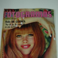 Cine: REVISTA FOTOGRAMAS Nº 1129 JUNIO 1970 - BRITT EKLAND - LLUIS LLACH. Lote 38373700