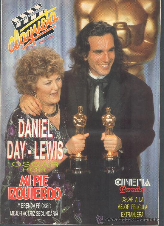 .1 REVISTA DE CINE ** CLAQUETA ** Nº 12 - ABRIL DE 1990 (Cine - Revistas - Claqueta)