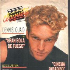 Cine: .1 REVISTA DE CINE ** CLAQUETA ** Nº 8 - NOVIEMBRE DICIEMBRE 1989. Lote 38386480