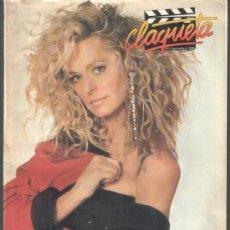 Cinema: .1 REVISTA DE CINE ** CLAQUETA ** Nº 6 - SEPTIEMBRE 1989. Lote 38386504