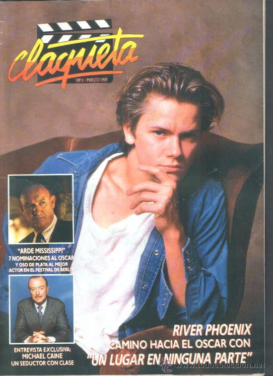 .1 REVISTA DE CINE ** CLAQUETA ** ¡¡¡ Nº 1 - MARZO 1989 !!! (Cine - Revistas - Claqueta)