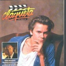 Cine: .1 REVISTA DE CINE ** CLAQUETA ** ¡¡¡ Nº 1 - MARZO 1989 !!!. Lote 38386568