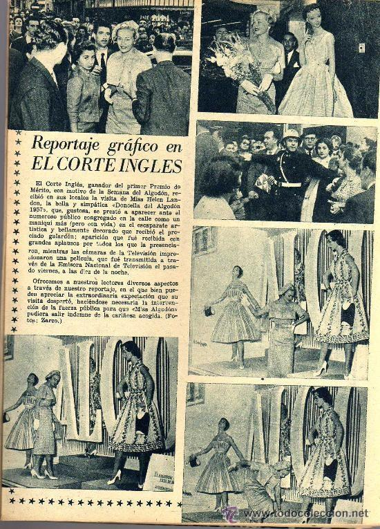 Cine: RADIOCINEMA Nº 360 -15 JUNIO 1957 - PORTADA FRANÇOISE ARNOUL - CONTRAPORTADA CURD JURGENS - Foto 6 - 38412136
