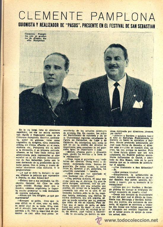 Cine: RADIOCINEMA Nº 365 - 20 JULIO 1957 - PORTADA ZULLY MORENO - CONTRAPORTADA FESTIVAL DE SAN SEBASTIAN - Foto 4 - 38401434