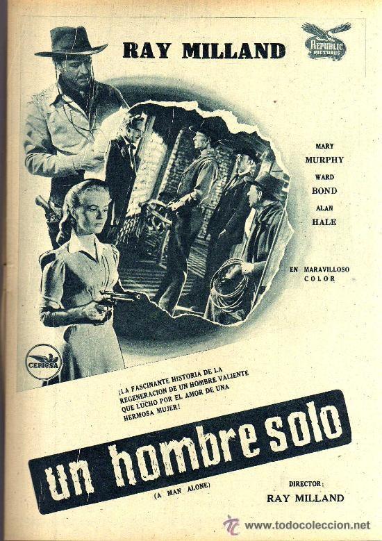 Cine: RADIOCINEMA Nº 340 - 26 ENERO 1957 - PORTADA MARIANNE COOK - CONTRAPORTADA MAUREEN OHARA - Foto 4 - 38401485