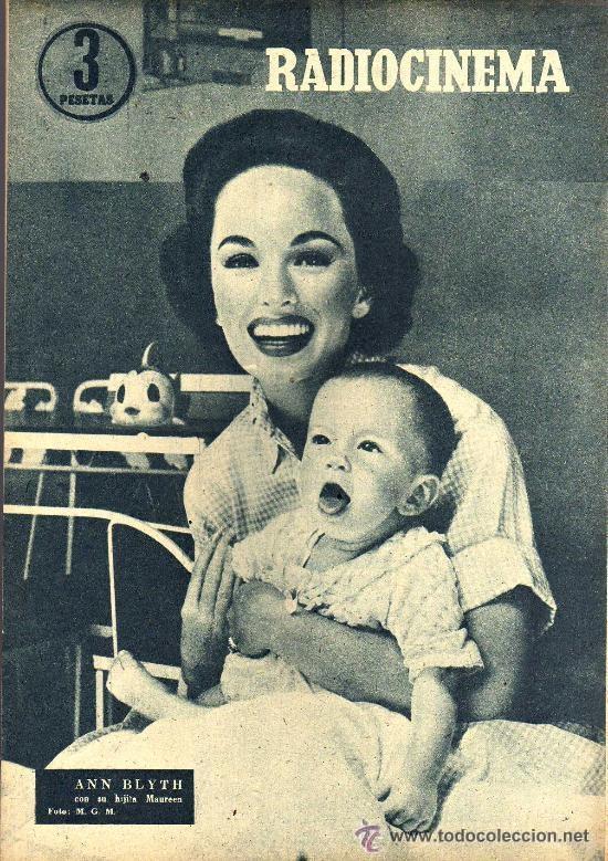 Cine: RADIOCINEMA Nº 339 - 19 ENERO 1957 - PORTADA JANE POWELL - CONTRAPORTADA ANN BLYTH - Foto 2 - 38401387