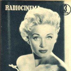 Cine: RADIOCINEMA Nº 339 - 19 ENERO 1957 - PORTADA JANE POWELL - CONTRAPORTADA ANN BLYTH. Lote 38401387