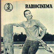 Cine: RADIOCINEMA Nº 340 - 26 ENERO 1957 - PORTADA MARIANNE COOK - CONTRAPORTADA MAUREEN O'HARA. Lote 38401485