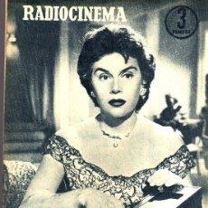 Cine: RADIOCINEMA Nº 328 - 3 NOVIEMBRE 1956 - PORTADA ANA MARISCAL - CONTRAPORTADA GLEN FORD. Lote 38401530