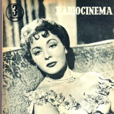 Cine: RADIOCINEMA Nº 332 - 1 DICIEMBRE 1956 - PORTADA PAQUITA RICO - CONTRAPORTADA JACK PALANCE. Lote 38401671