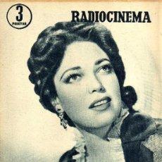 Cine: RADIOCINEMA Nº 350 -6 ABRIL 1957 - PORTADA LINDA DARNELL - CONTRAPORTADA NATALIE WOOD. Lote 38401682