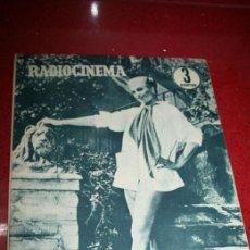 Cine: RADIOCINEMA Nº 369 - 17 AGOSTO 1957 - PORTADA MARTHA HYER - CONTRAPORTADA BARBARA VARENNA. Lote 38402516