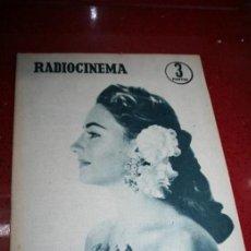 Cine: RADIOCINEMA Nº 367 - 3 AGOSTO 1957 - PORTADA MARIA LUZ GALICIA - CONTRAPORTADA LIZABETH SCOTT. Lote 38402557