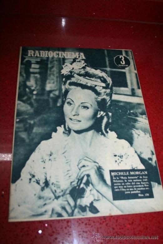 RADIOCINEMA Nº 376 - 5 SEPTIEMBRE 1957 - PORTADA MICHELLE MORGAN - CONTRAPORTADA BARBARA LANG (Cine - Revistas - Radiocinema)