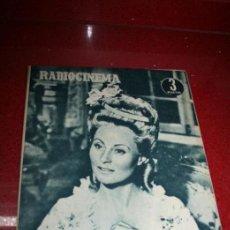 Cine: RADIOCINEMA Nº 376 - 5 SEPTIEMBRE 1957 - PORTADA MICHELLE MORGAN - CONTRAPORTADA BARBARA LANG. Lote 38409016