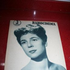 Cine: RADIOCINEMA Nº 345 - 2 MARZO 1957 - PORTADA C.H. WESSELY - CONTRAPORTADA TONY CURTIS. Lote 38412126
