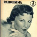 Cine: RADIOCINEMA Nº 360 -15 JUNIO 1957 - PORTADA FRANÇOISE ARNOUL - CONTRAPORTADA CURD JURGENS. Lote 38412136