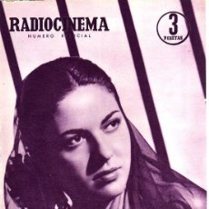 Cine: RADIOCINEMA Nº 352 -20 ABRIL 1957 - NUMERO ESPECIAL - PORTADA ALICIA MUÑOZ. Lote 38412138