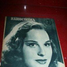 Cine: RADIOCINEMA Nº 378 - 19 OCTUBRE 1957 - PORTADA DOROTY MORRIS - CONTRAPORTADA PATRICIA OWENS. Lote 38412140