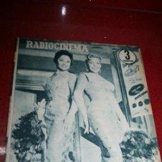 Cine: RADIOCINEMA Nº 372 - 7 SEPTIEMBRE 1957 - PORTADA MARIA MARTIN Y TRINI MONTERO. CONTRAP. ROCK HUDSON. Lote 38412150