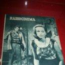 Cine: RADIOCINEMA Nº 370 - 24 AGOSTO 1957 - PORTADA ARTURO FERNANDEZ/MONTSERRAT SALVADOR . Lote 38412151