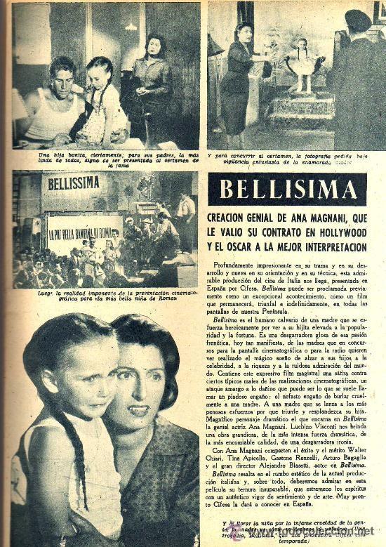 Cine: RADIOCINEMA Nº 339 - 19 ENERO 1957 - PORTADA JANE POWELL - CONTRAPORTADA ANN BLYTH - Foto 4 - 38401387